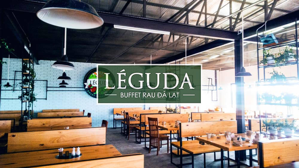 buffet rau đà lạt ở Leguda