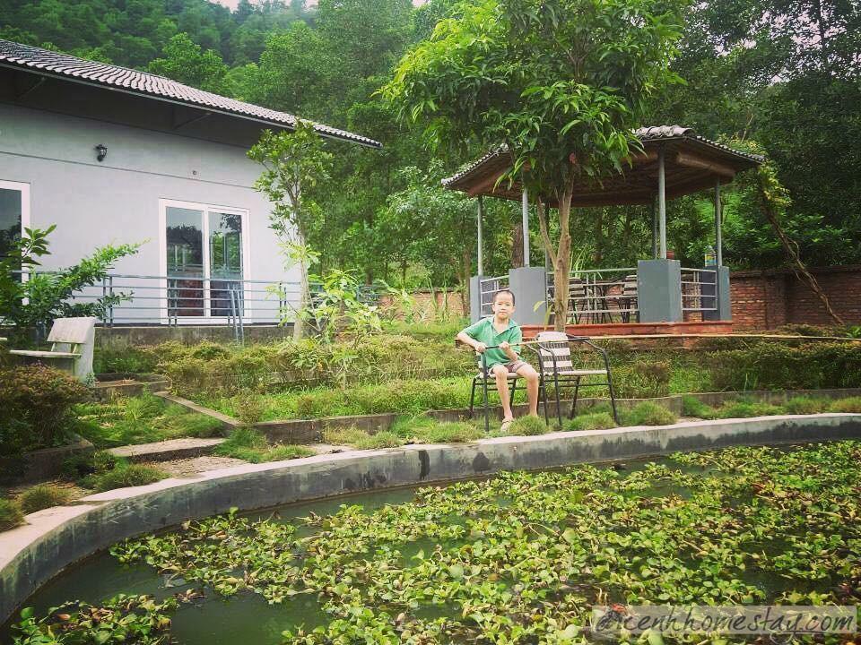 trải nghiệm câu cá ở Tân Bình Trang