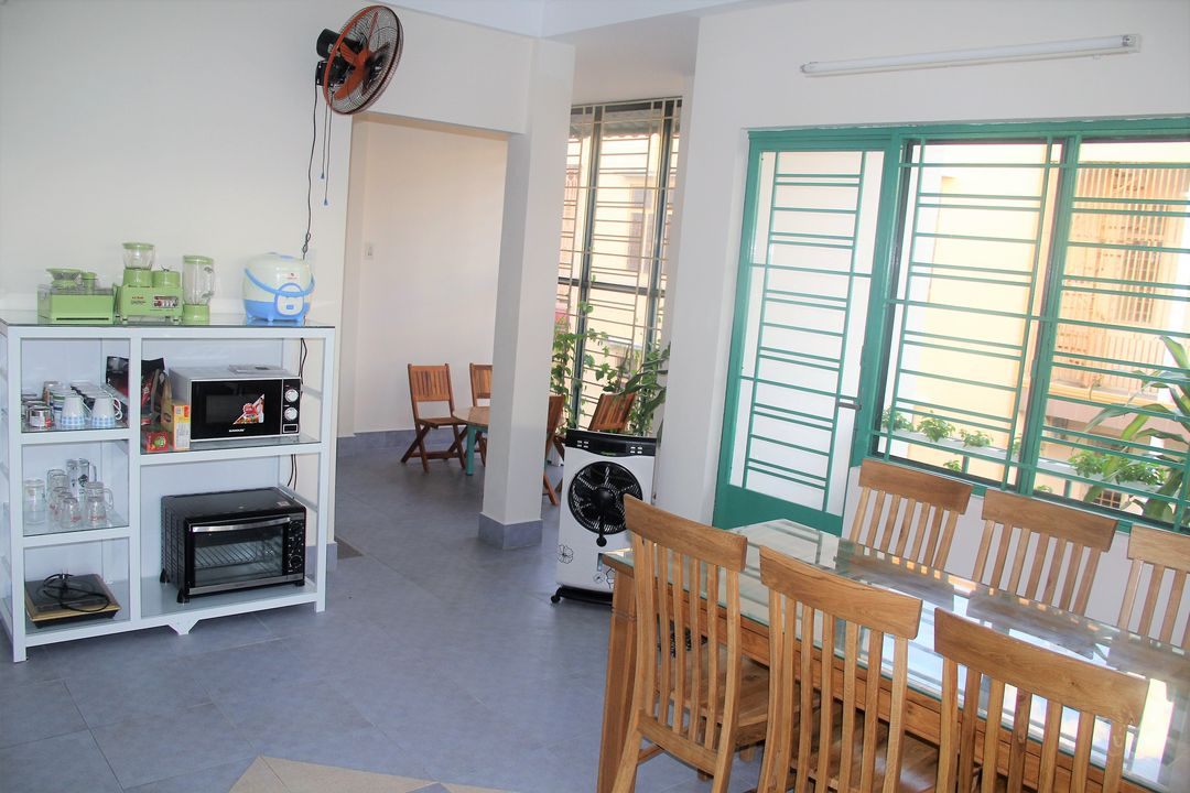 Phòng tại Winter Spring Homestay sạch sẽ và đầy đủ thiết bị sinh hoạt