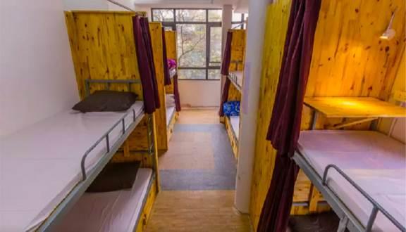Gowhere Hanoi Hostel có giường tầng rất xinh