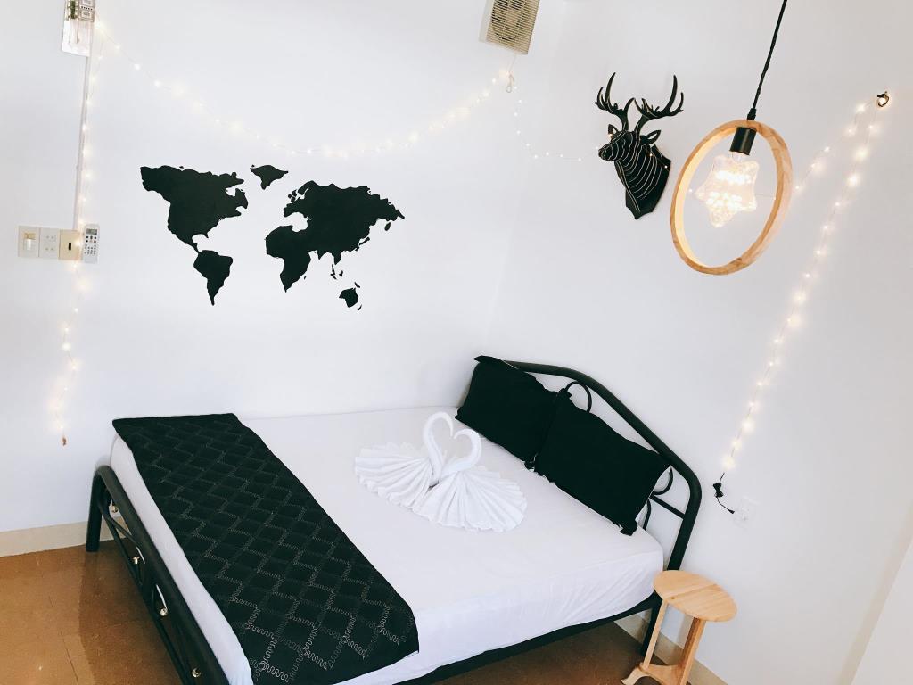Phòng ngủ được thiết kế tinh tế và đẹp mắt