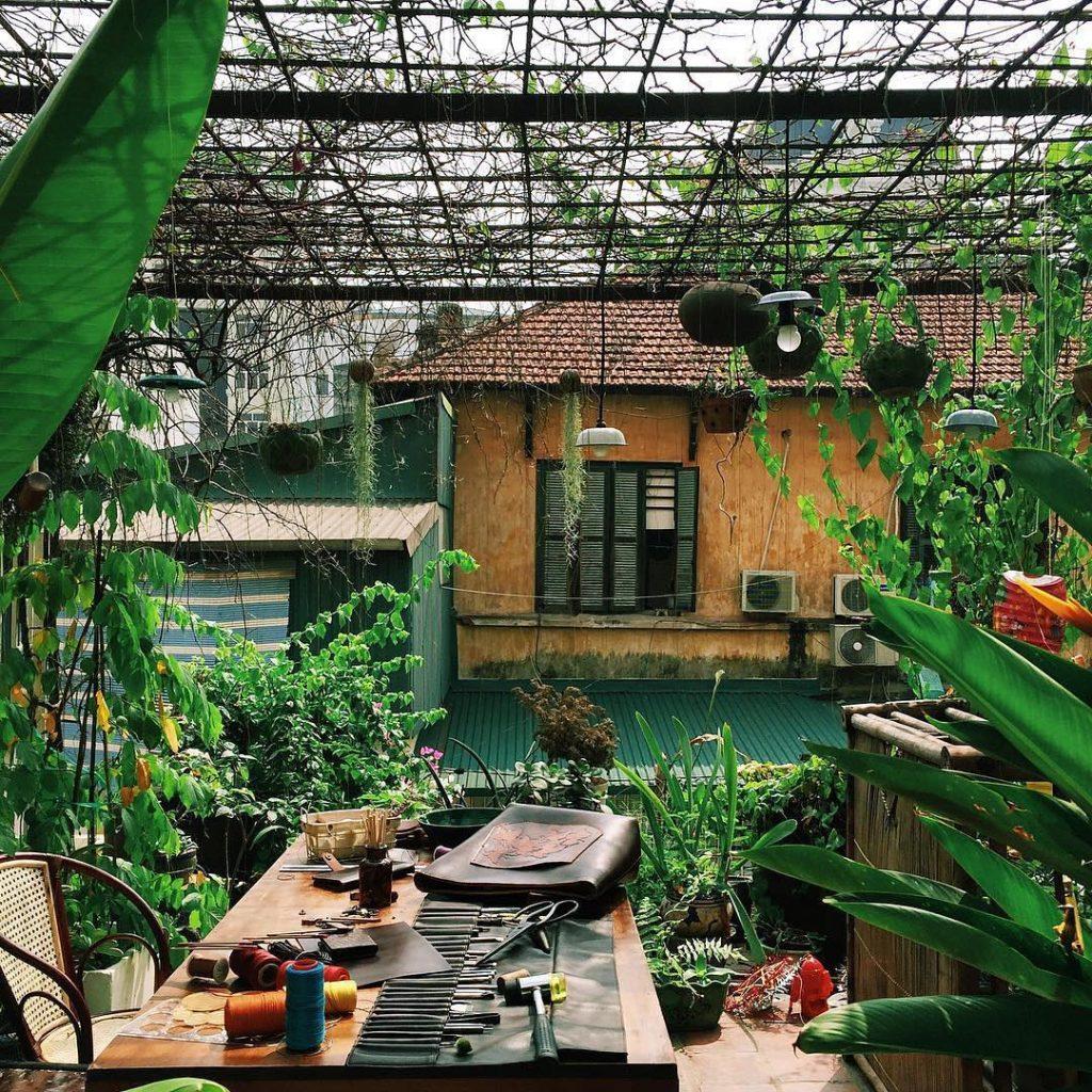 Nhà Trong xóm - Le Bleu Art decor loft