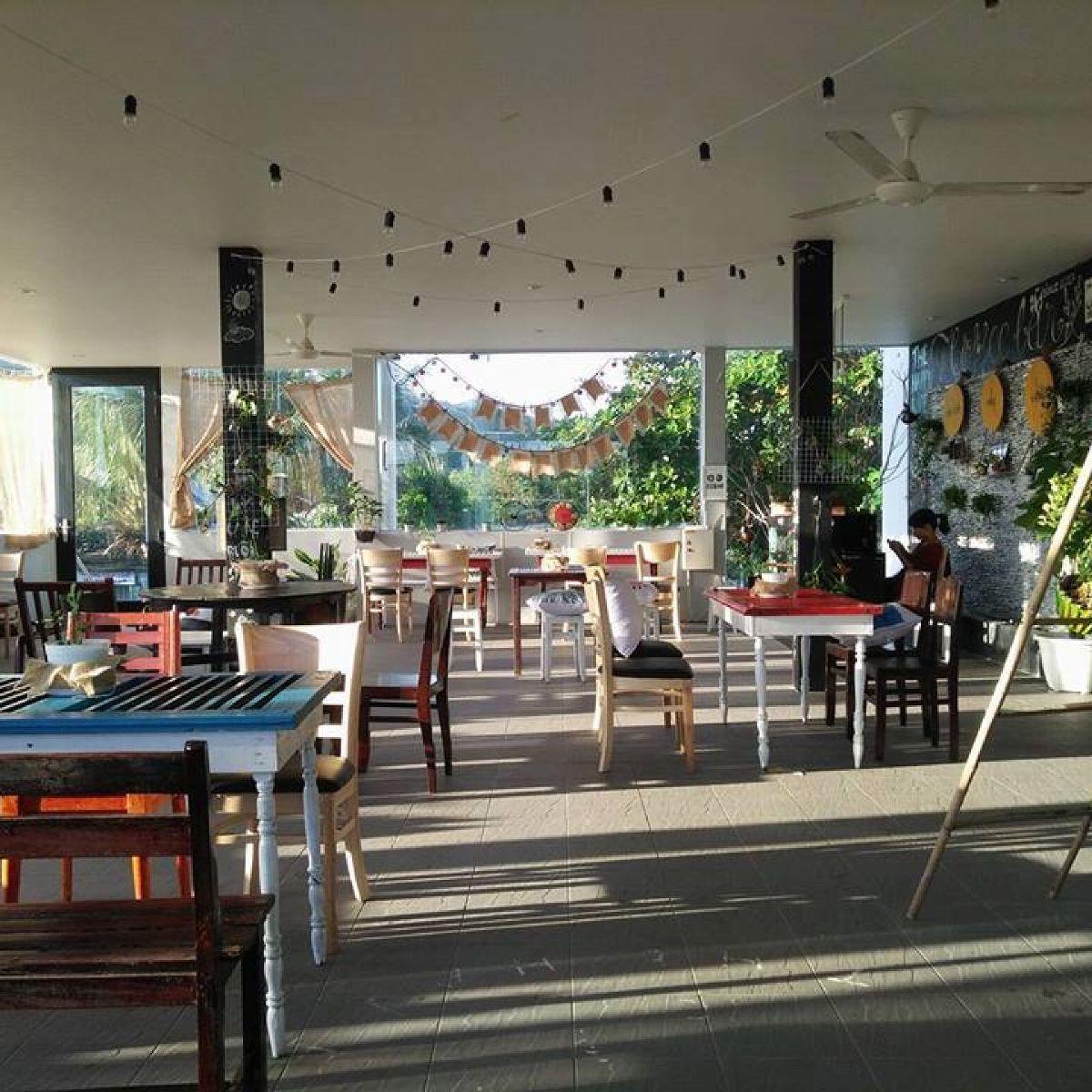Không gian quán cà phê đẹp lung linh