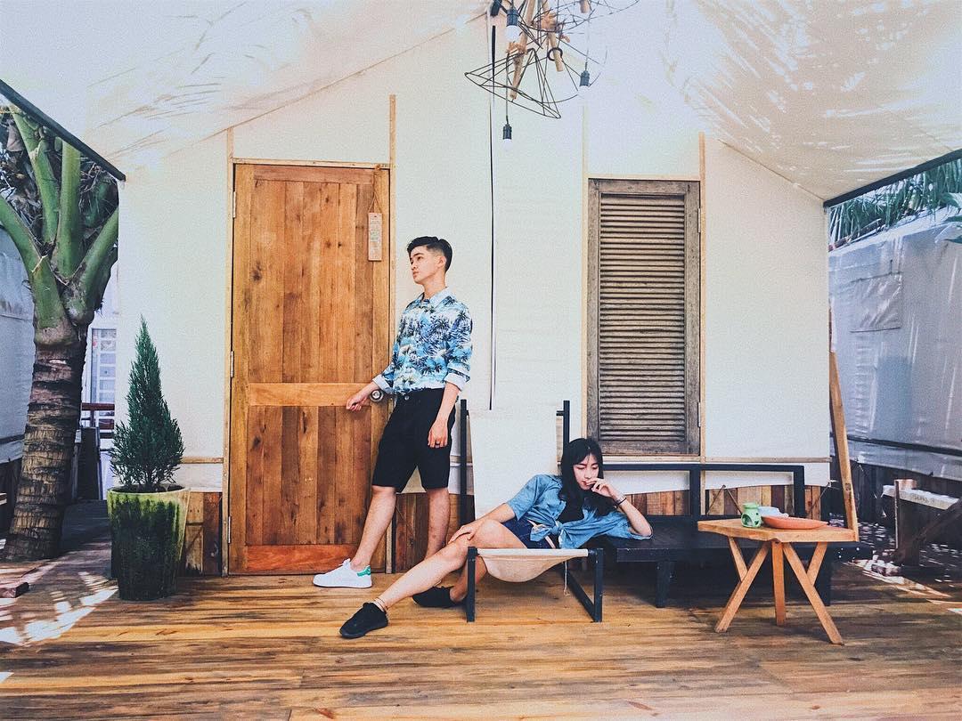 Phòng ngủ của The Fish Hostel