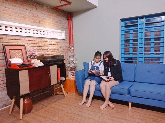 Phòng đọc sách siêu dễ thương