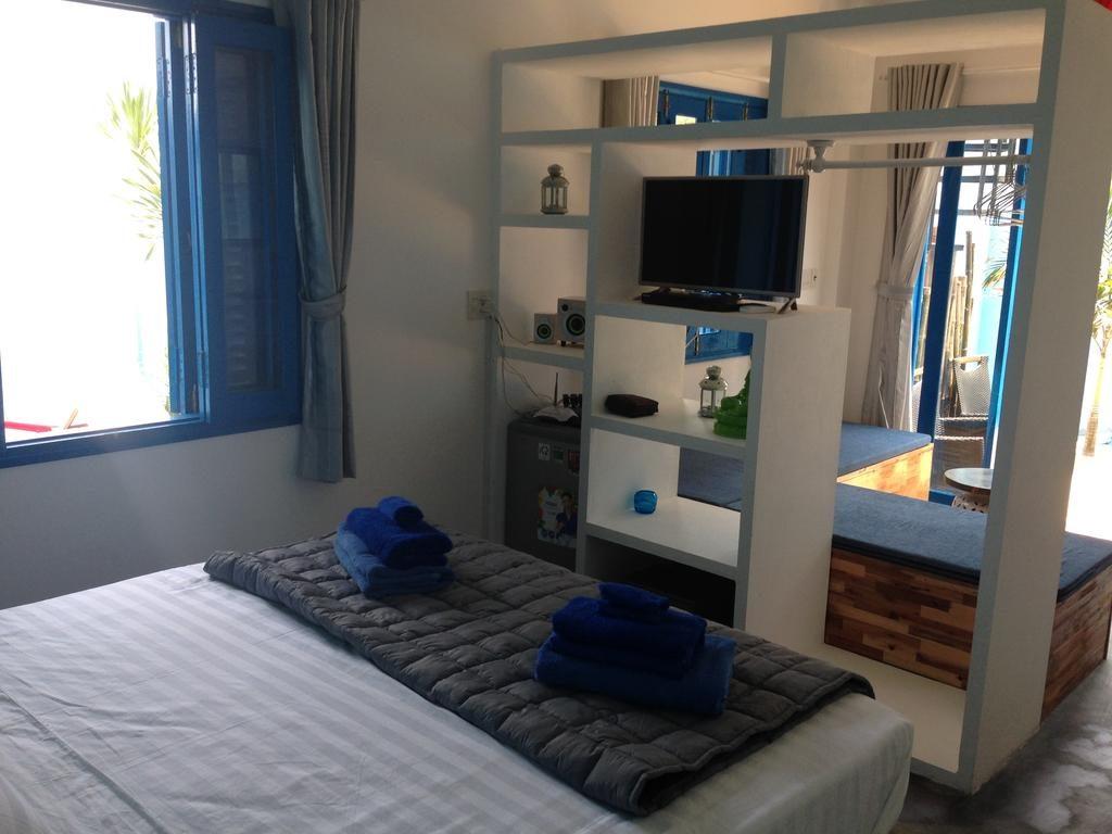 phòng ngủ chất lượng không hề kém các resort sang chảnh