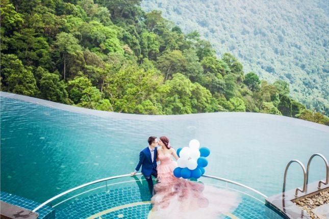 nhiều cặp đôi lựa chọn nơi này để lưu lại tấm hình cưới trọng đại trong đời