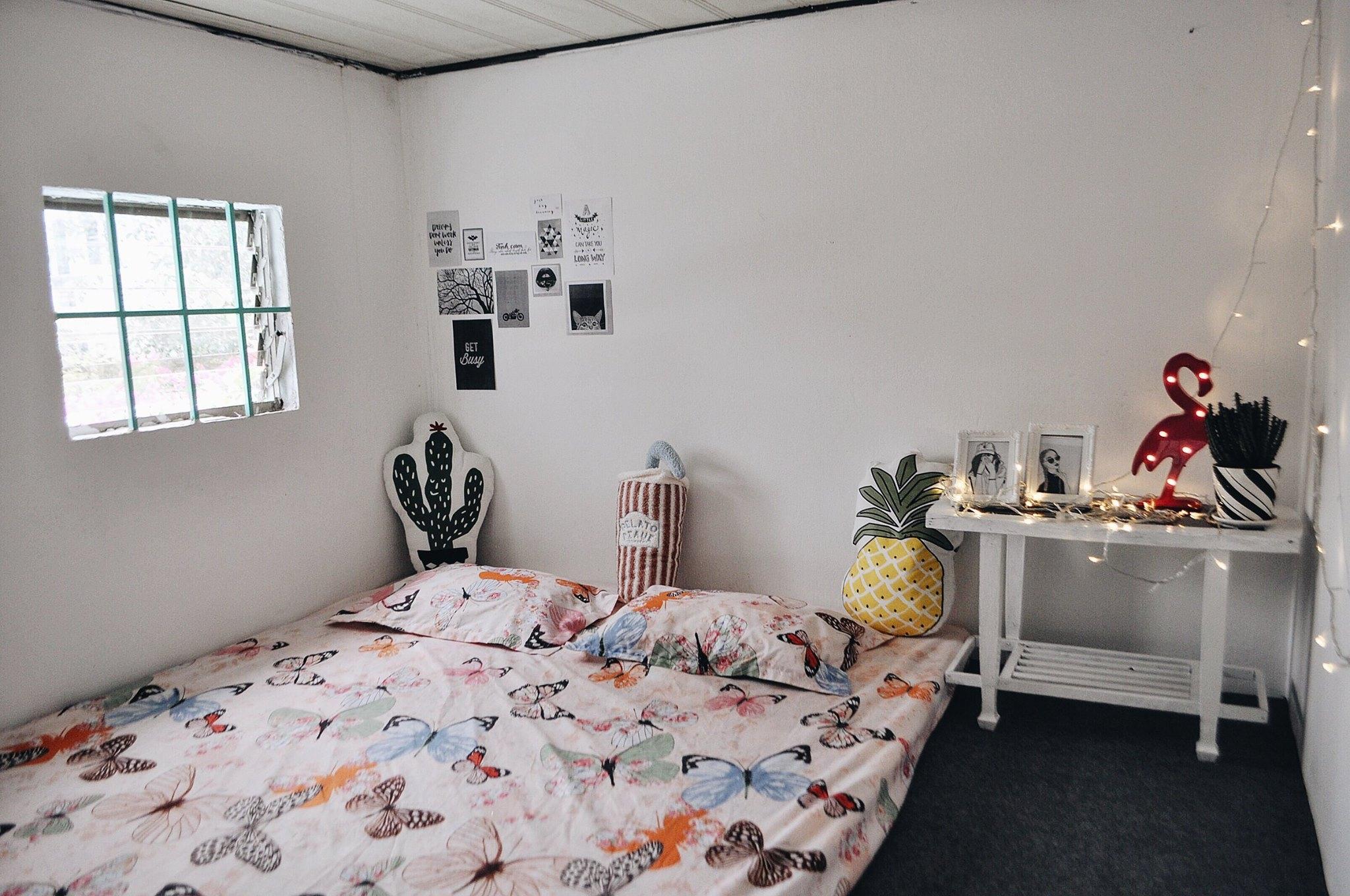 phòng ngủ của An Yên homestay.