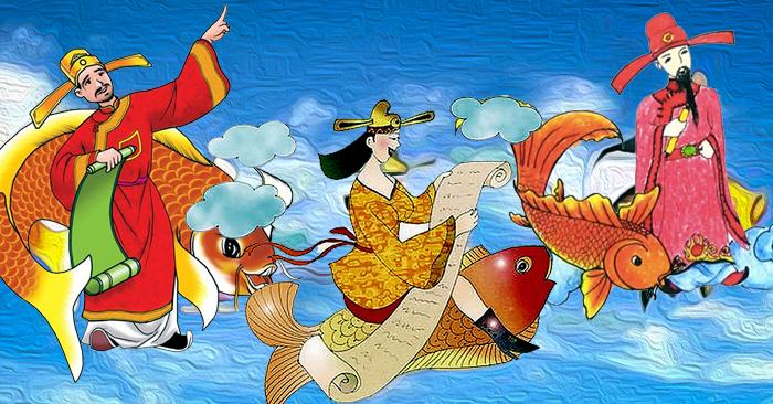 Ông táo còn gọi là Thần Bếp của gia đình Việt