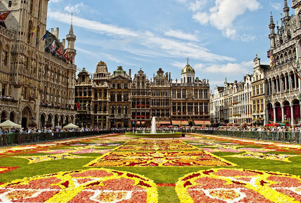 Công trình kiến trúc độc đáo chỉ có tại Bỉ