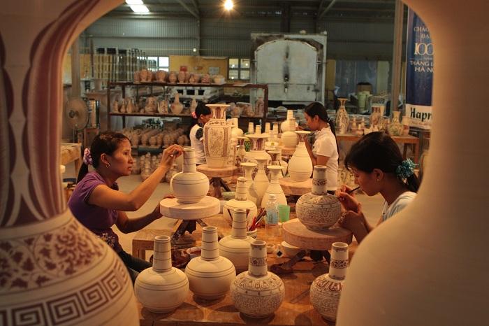 Làng gốm tại Hội An