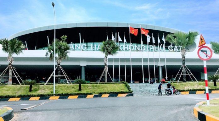 Sân bay Phù Cát thuộc tỉnh Bình Định, thành phố Quy Nhơn