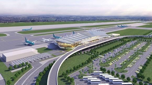 Hình ảnh đường bay của sân bay Phù Cát