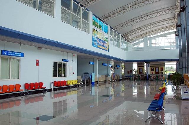 Khu nhà ga của sân bay Phù Cát