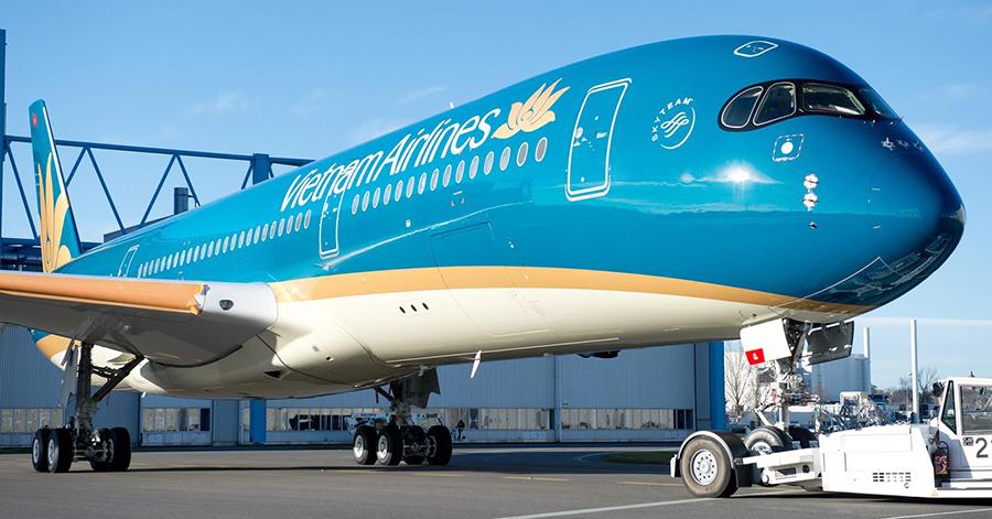 Vietnam Airline là hãng hàng không có đường bay tại Phù Cát